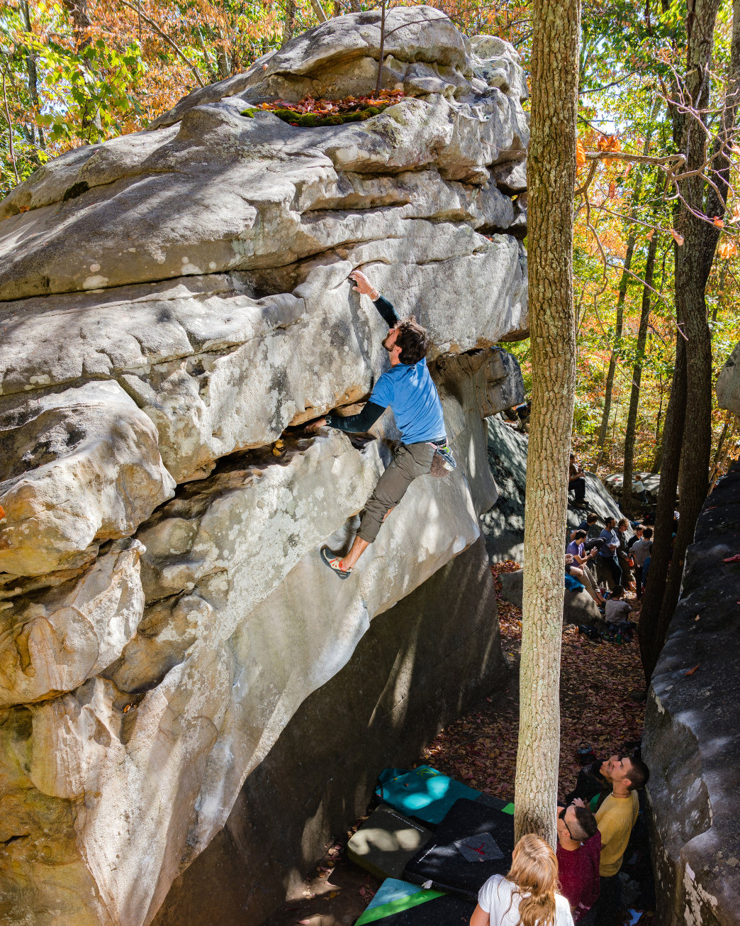The Triple Crown Series brings several rock climbing competitions to Chattanooga.