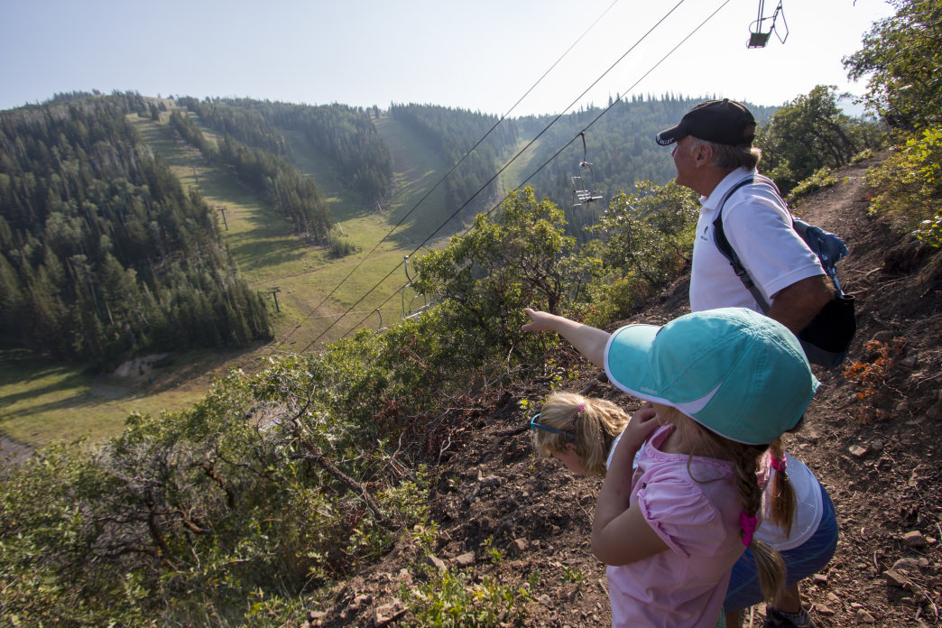 Get a bird's eye view of Deer Valley from the lifts and explore nature up close along the trails.
