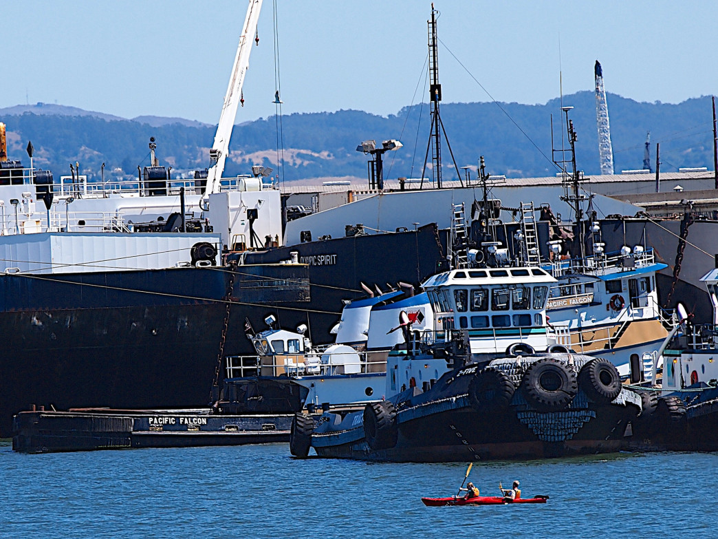 A kayak is a whole new way to explore Oakland.