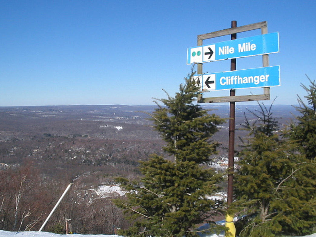 Camelback offers a variety of trails, as well as the largest snow tubing park in the country.