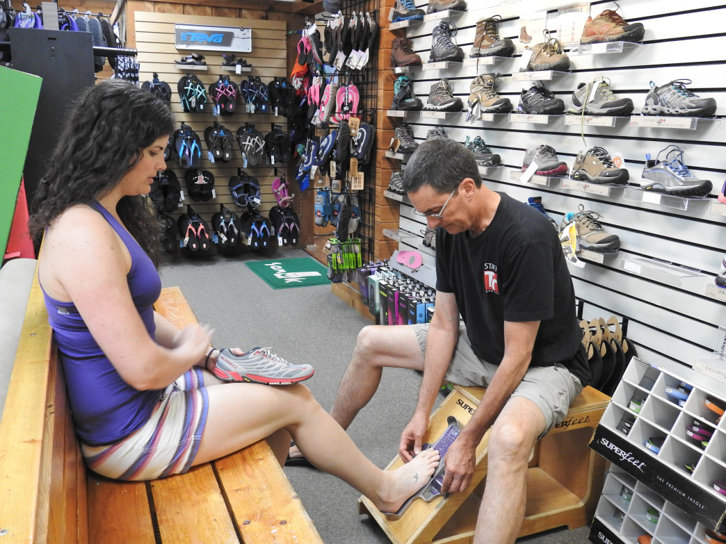 Travel Country Outfitters helps customers put their best foot forward.
