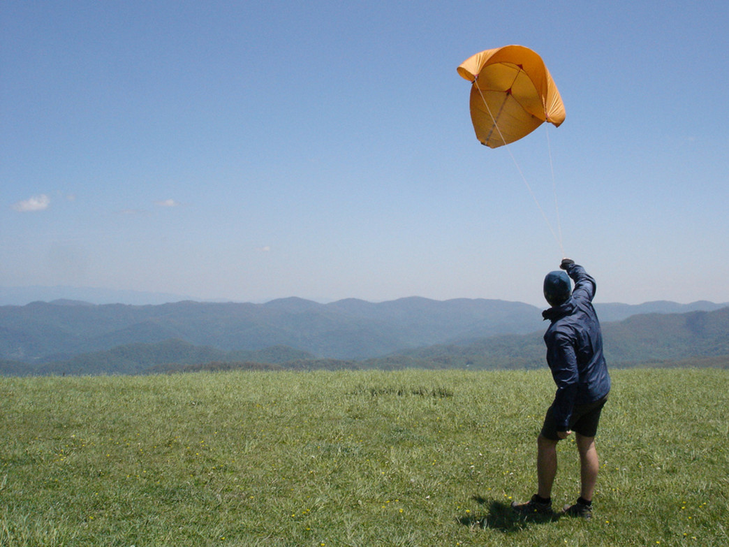 Kite flying on Max Patch may not be the most extreme sport...and that's why we love it.