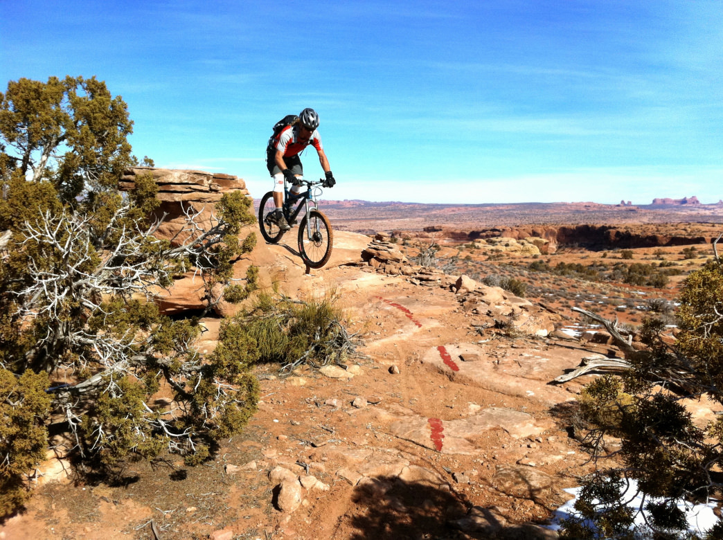 You Ll Find Trails For All Ability Levels At The M O A B Brand Trail System