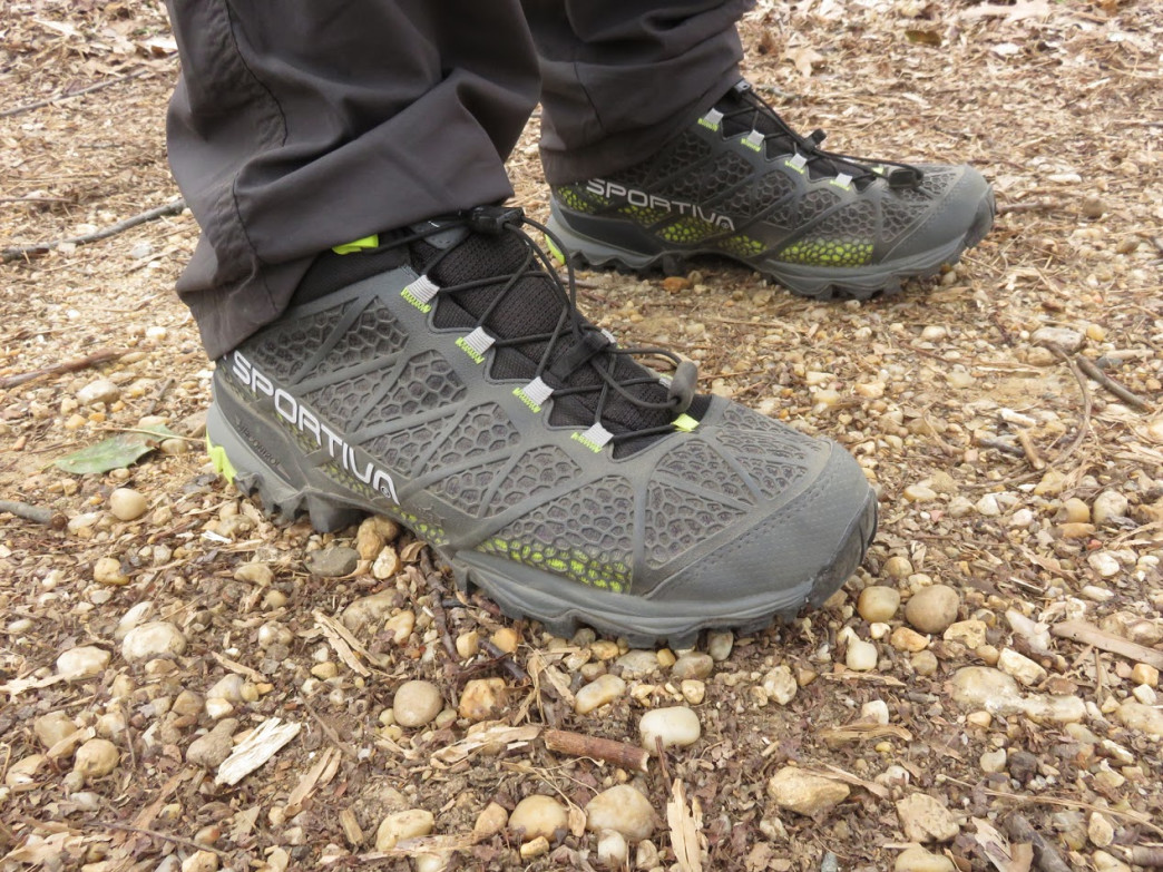 Wearing durable shoes is an essential part of visiting Rock Creek Park.  Jason Devaney