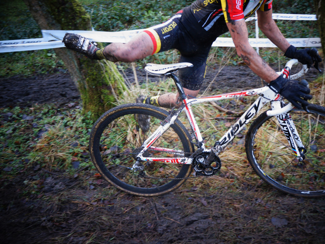 Before you know it, you'll be mounting and dismounting your bike like the pros.