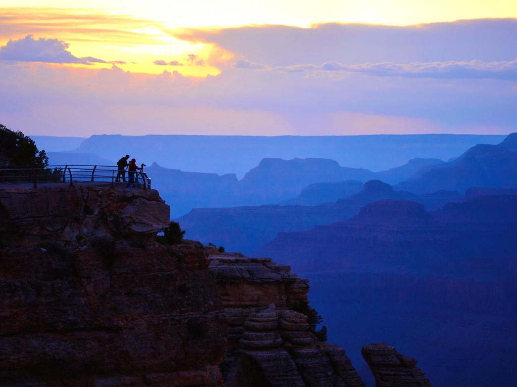 No surprises that the Grand Canyon makes the list.
