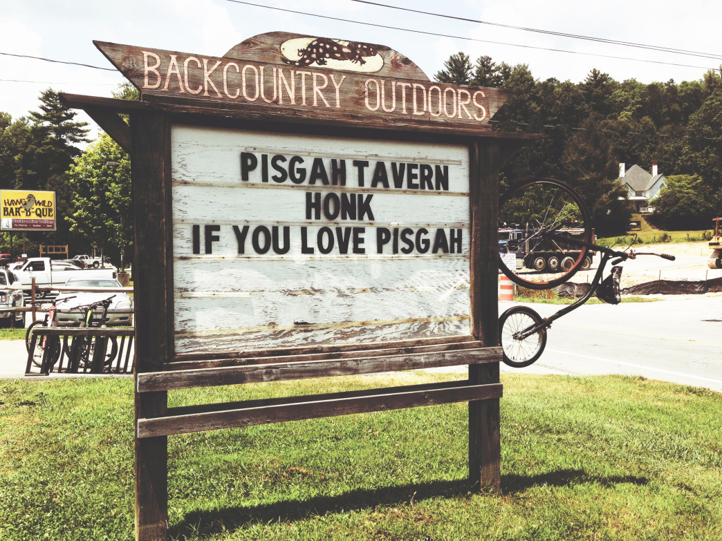 Honk if you love Pisgah!