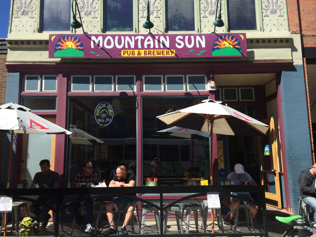 Mountain Sun is a downtown Boulder mainstay.