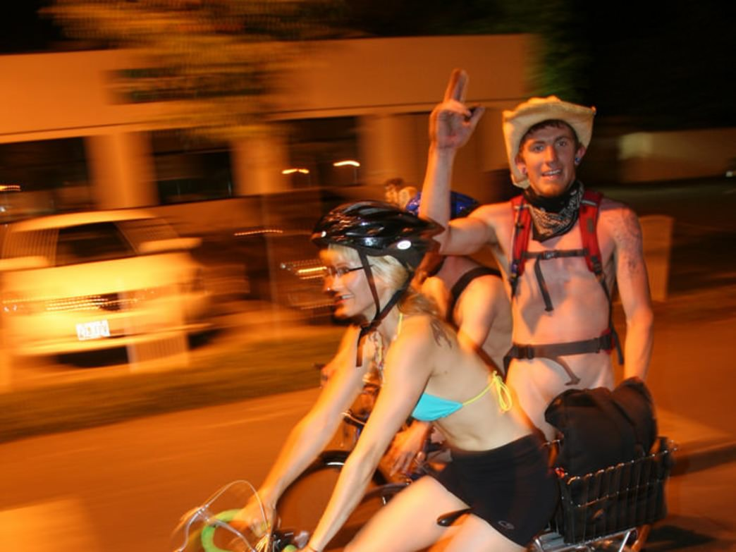 Common Scenes from Naked Bike Ride