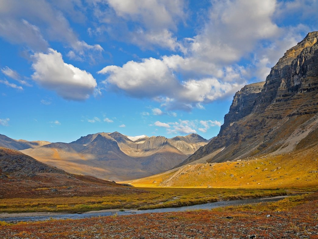 The immaculate landscape at Gates of the Arctic National Park.