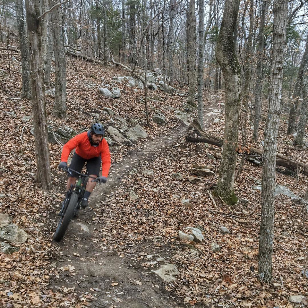 Mountain biking in Monte Sano State Park is a great way to spend an afternoon!