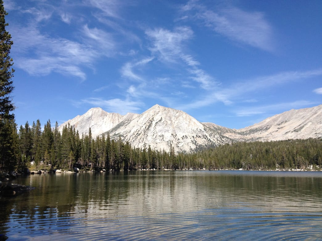 Young Lake makes for a scenic overnight trip in the Yosemite Backcountry.