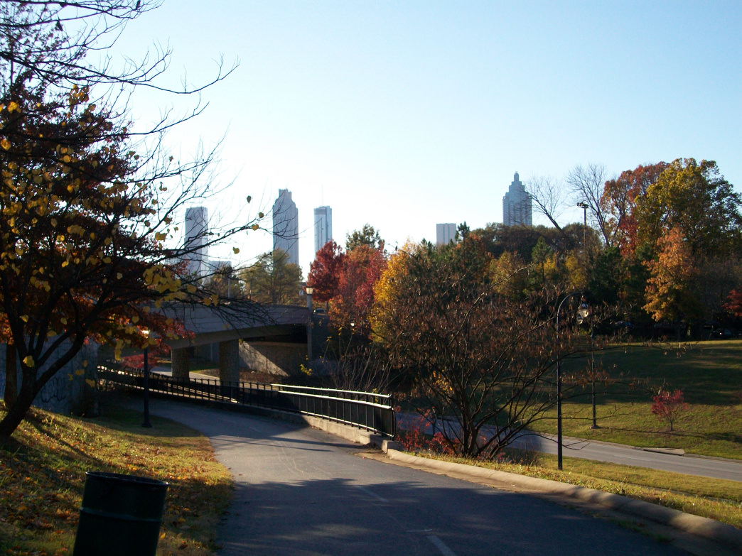 Cooler temps make autumn one of the best times to get outside and explore Atlanta.