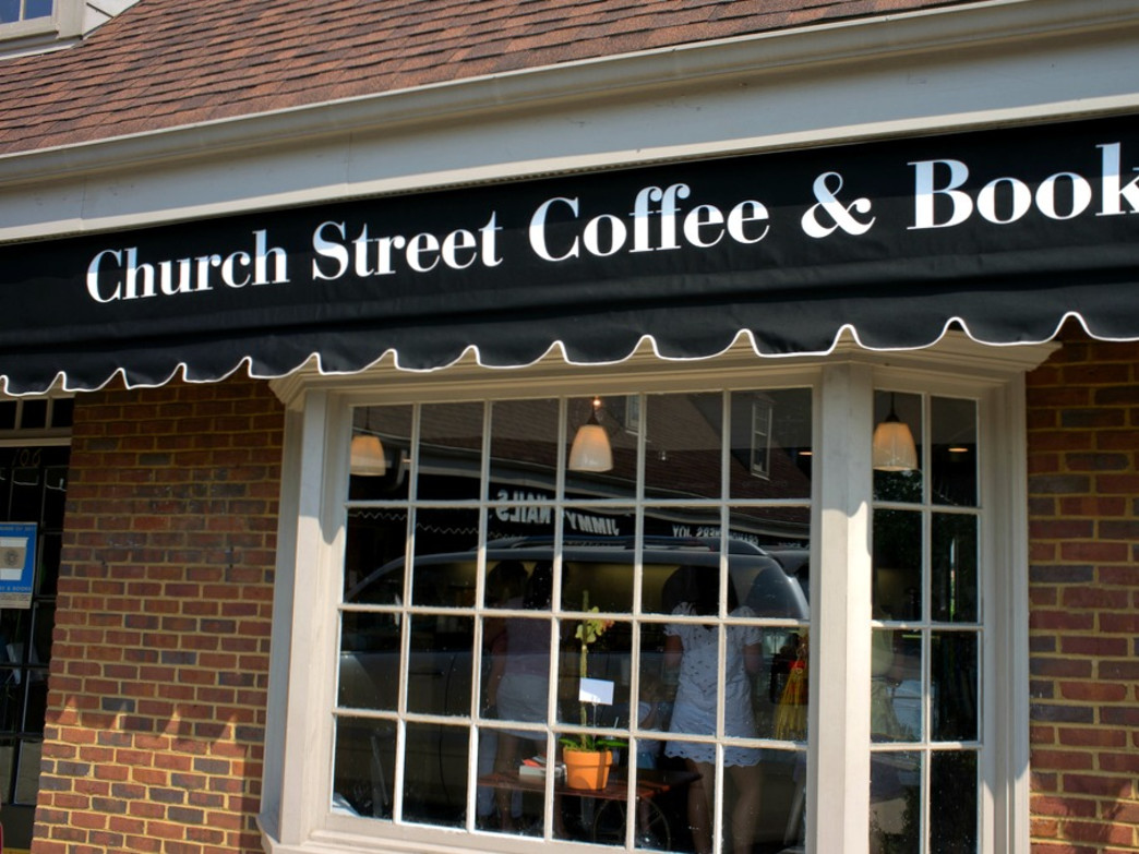 Church Street Coffee and Books is a great spot to while away the hours and get pleasantly caffeinated.