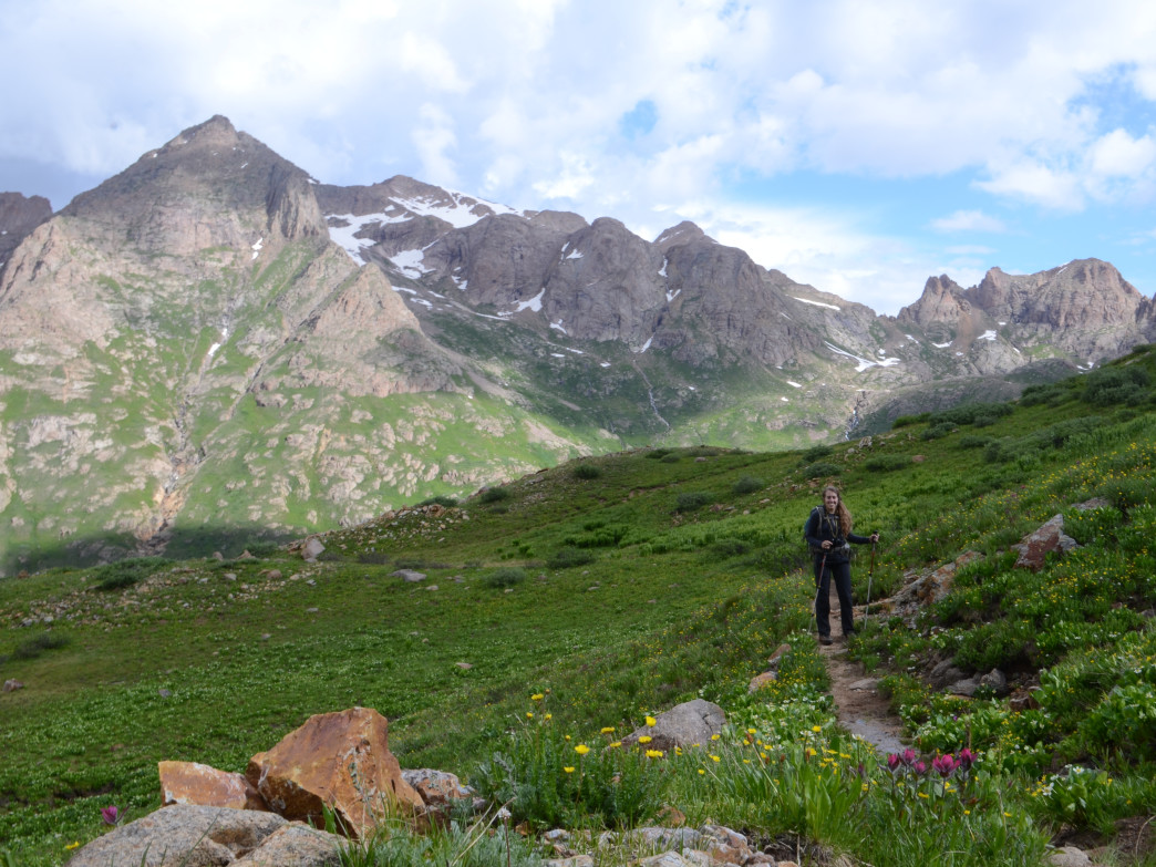 Chicago Basin is made for peak-baggers, with three 14,000 ft. mountains within a day's hike.
