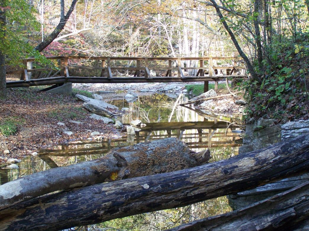 Carter Caves State Resort Park offers more than 26 miles of wooded trails.