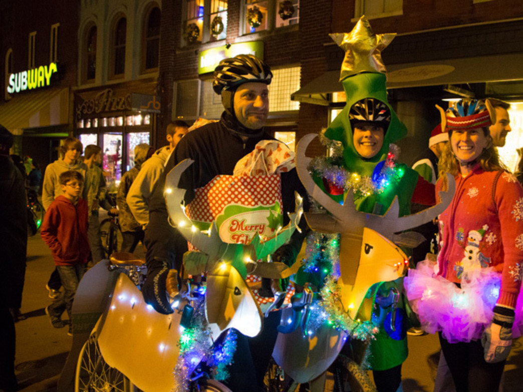The Tour de Lights Bike Parade now draws more than 1,000 riders to the celebration.