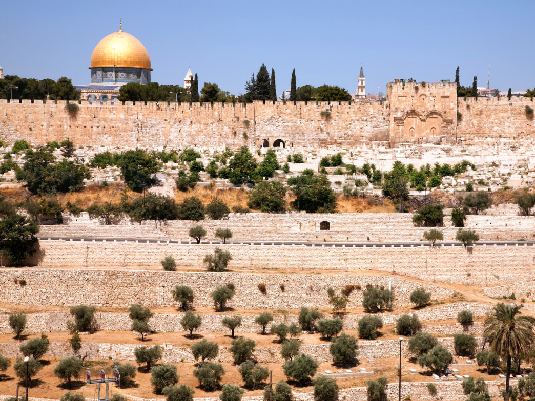 Hotly contested by Jews and Muslims, the Temple Mount/Haram Ash-Sharif is a prominent landmark in the Old City of Jerusalem.