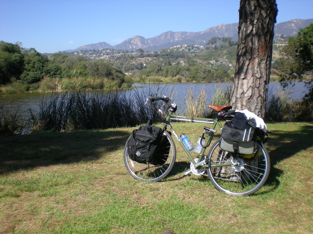 If you're bike touring through Santa Barbara, you have plenty of camping and lodging options.