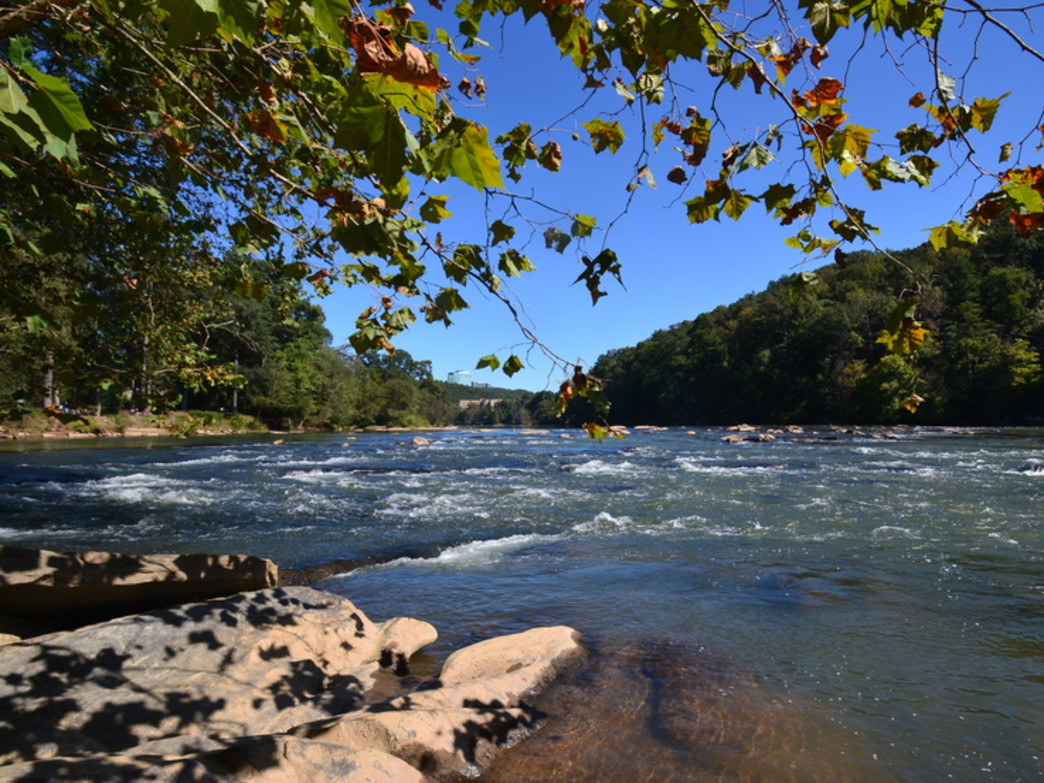 The Chattahoochee River National Recreation Area provides a spectacular outdoor playground just minutes from downtown Atlanta.