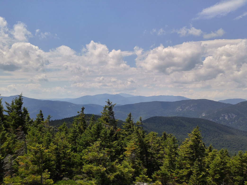A view of Mt. Washington from Speckled Mountain.