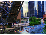 Image for Chicago River Urban Paddle