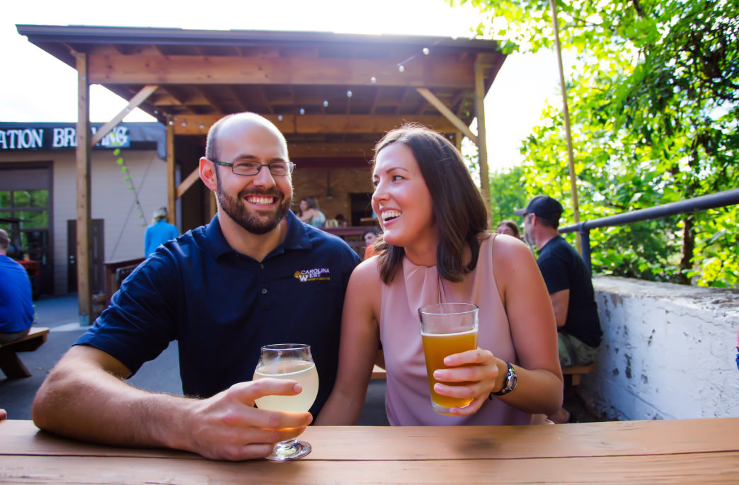 Jackson County features an eclectic trio of breweries around Sylva.