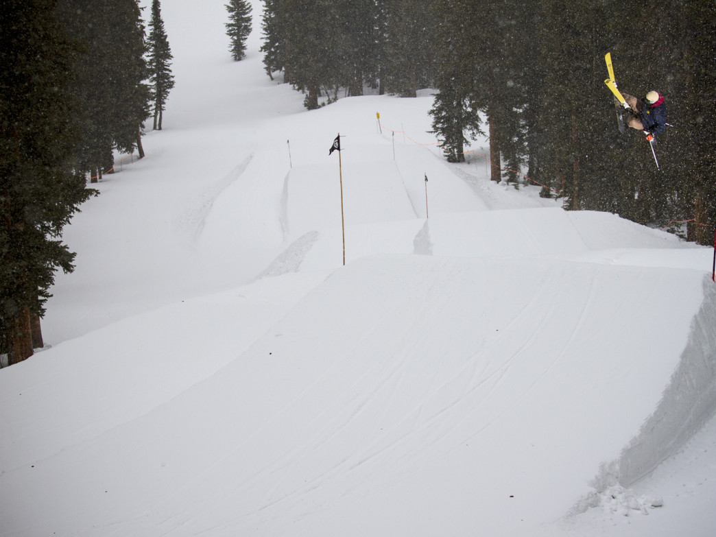 Boosting the first kicker in the My-Oh-My jump line -