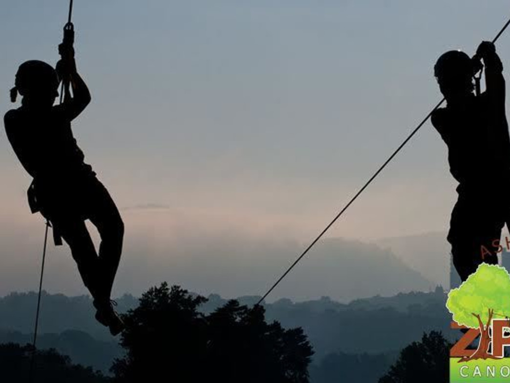 High Adventure on a Canopy Zip Line Tour
