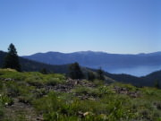 Lake Tahoe from Rim Trail