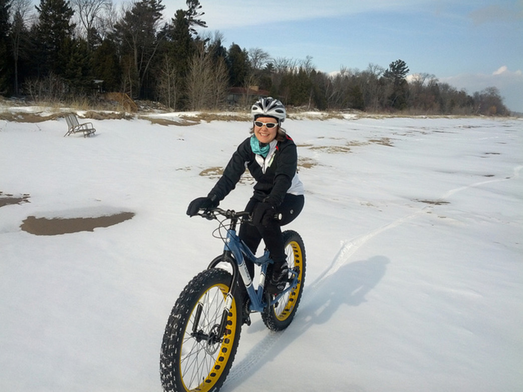 Get your snow bike ready for winter riding.