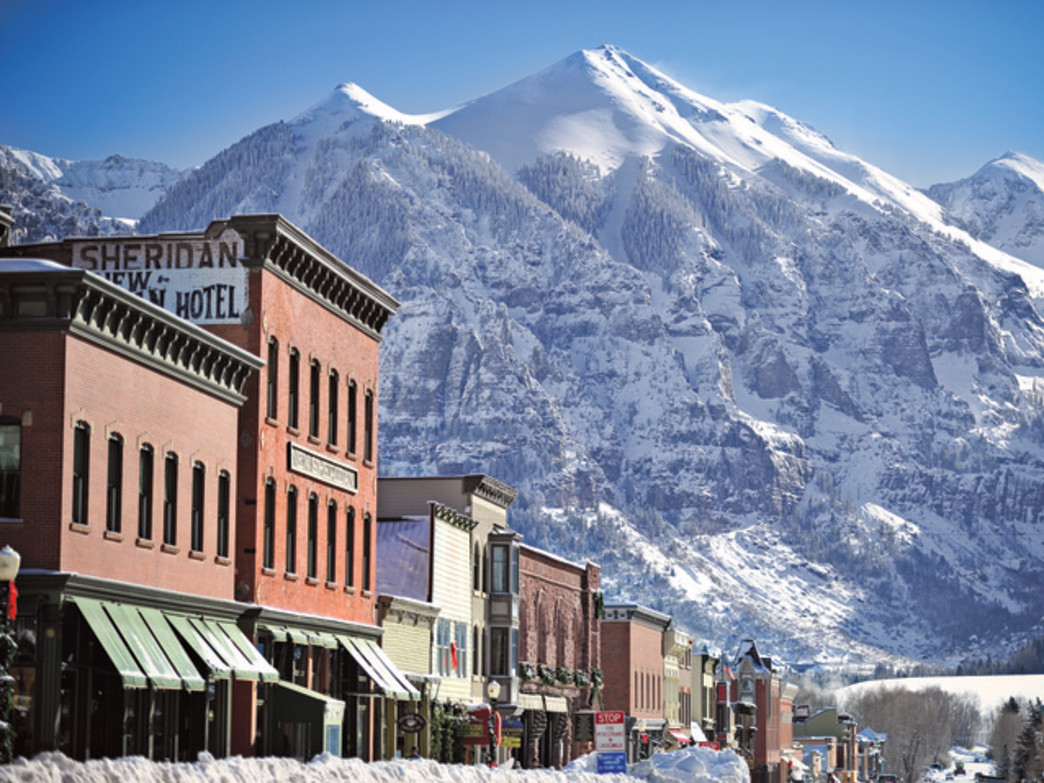Downtown Telluride is a scene that never gets old.