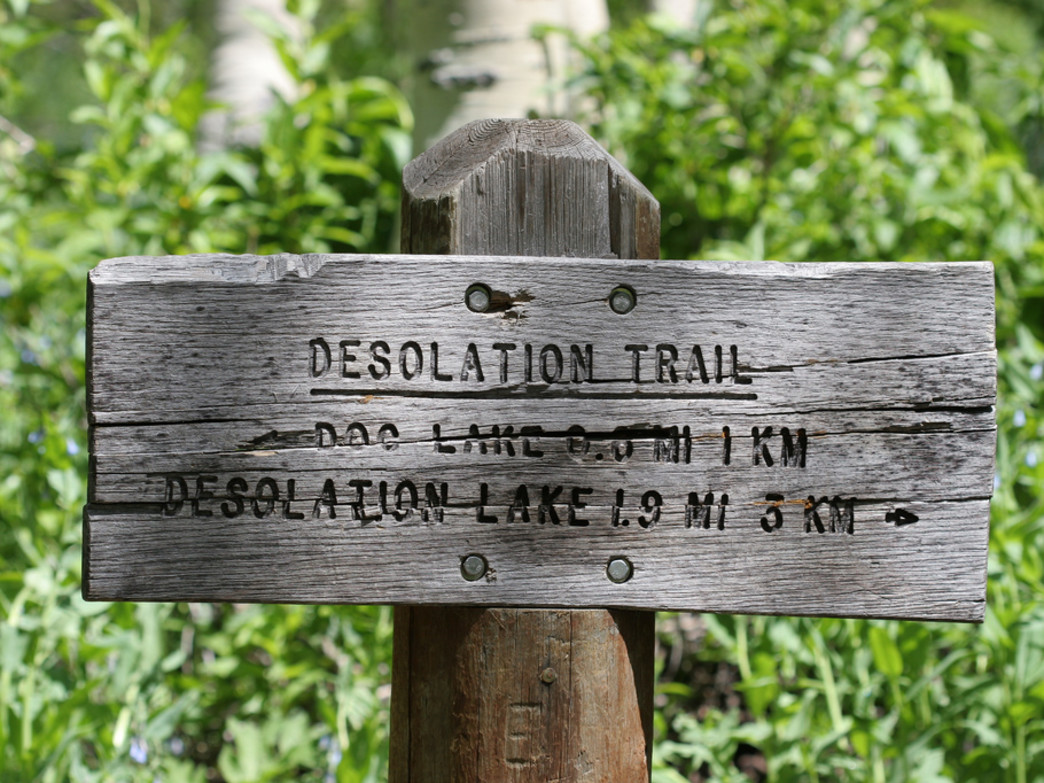 You can't go wrong on the Desolation Trail, whichever lake strikes your fancy.