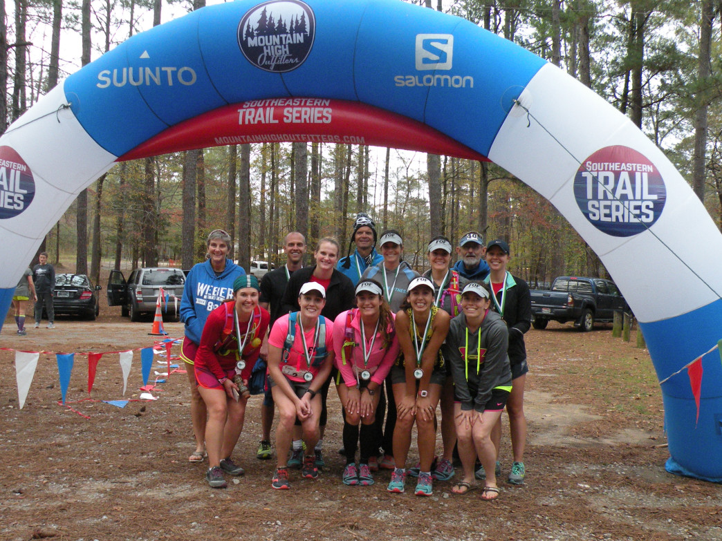 The Southeastern Trail Series is welcoming to beginners interested in starting trail running.