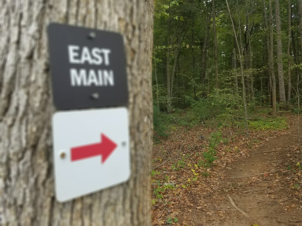 Hikers and bikers should watch out for each other along the East Main Extension. Rob Glover