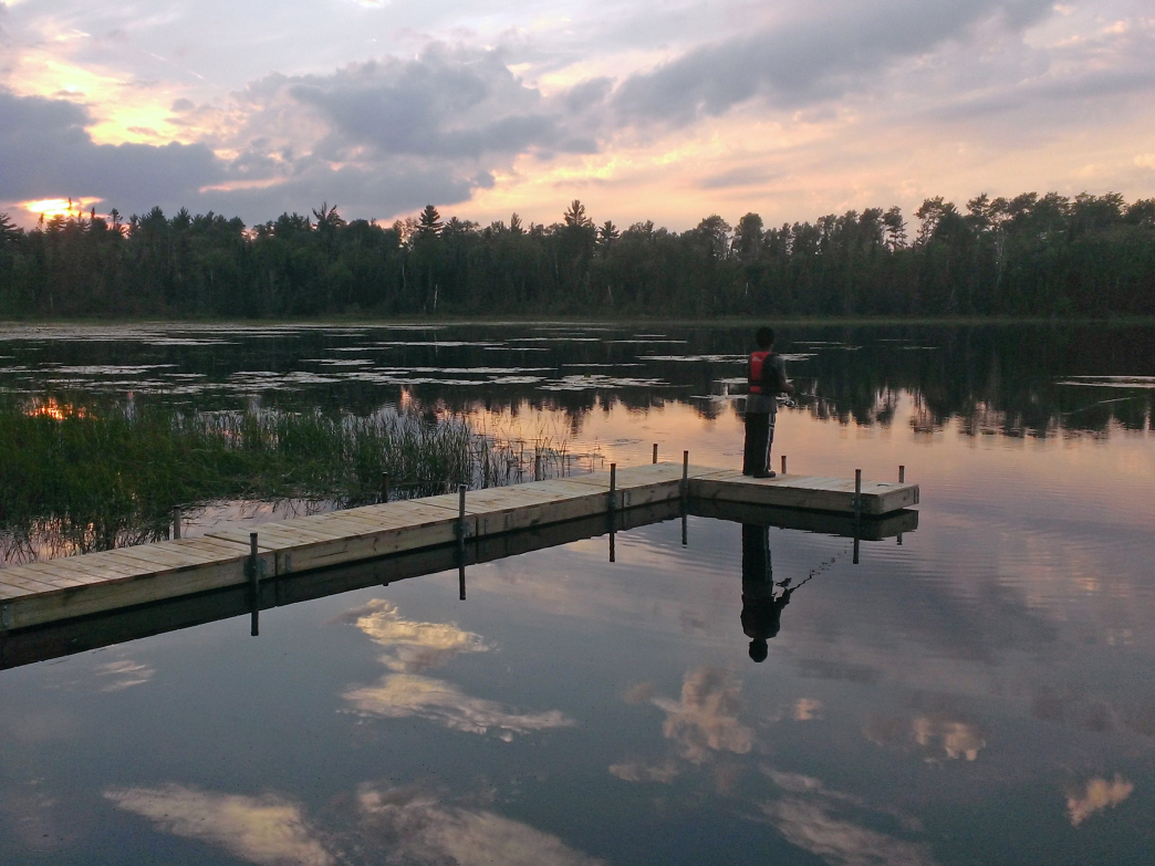 The Boundary Waters Canoe Area is comprised of over 100 million acres of wilderness, including 1,175 lakes and more than 1,200 miles of canoe routes.