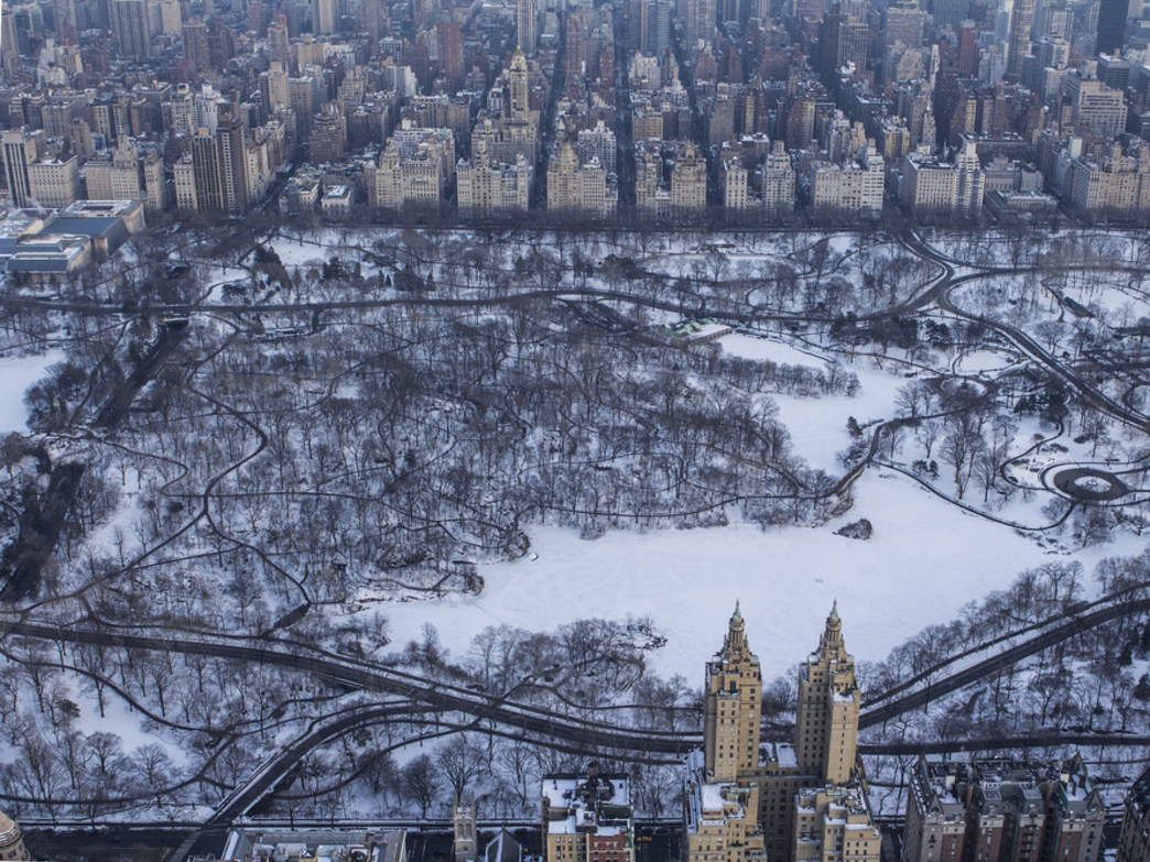 Central Park's maze of winter walkways where you can escape to this holiday season
