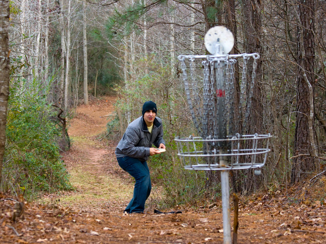 Disc golf is fun for beginners and pros, and south Alabama is full of courses.