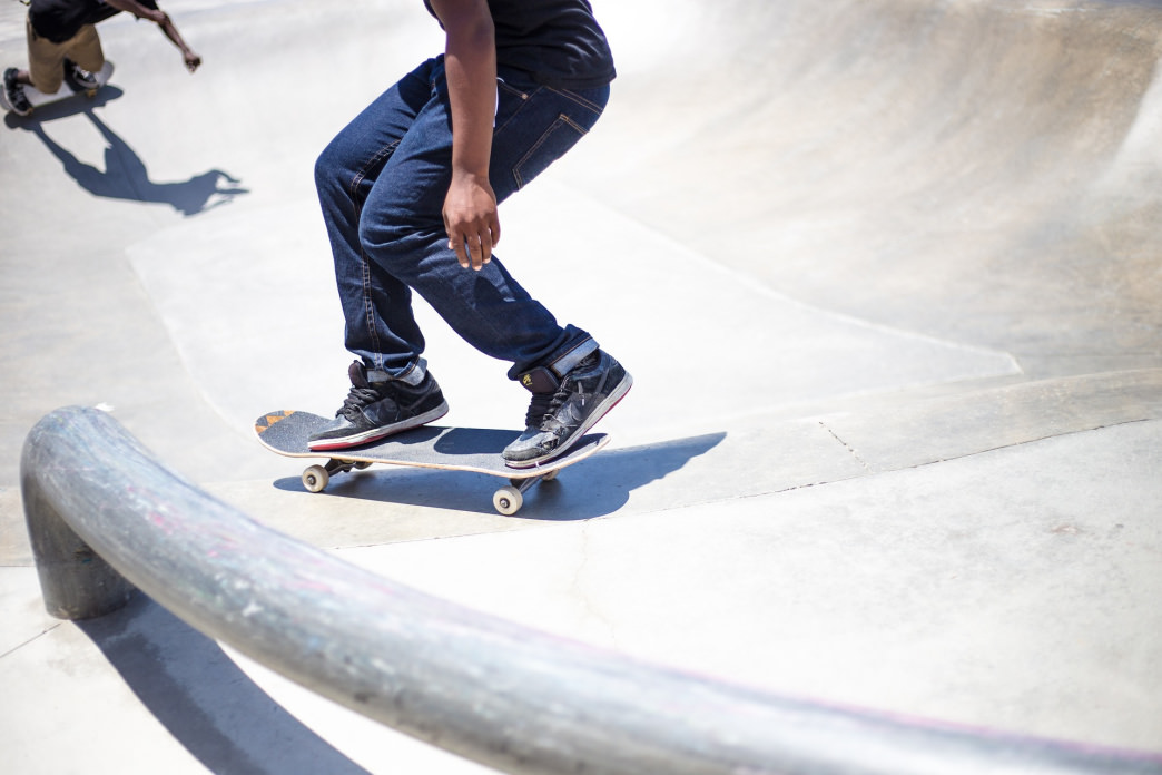 There are a lot of options for upping your game at the East L.A. Belvedere Skatepark.     Pixabay