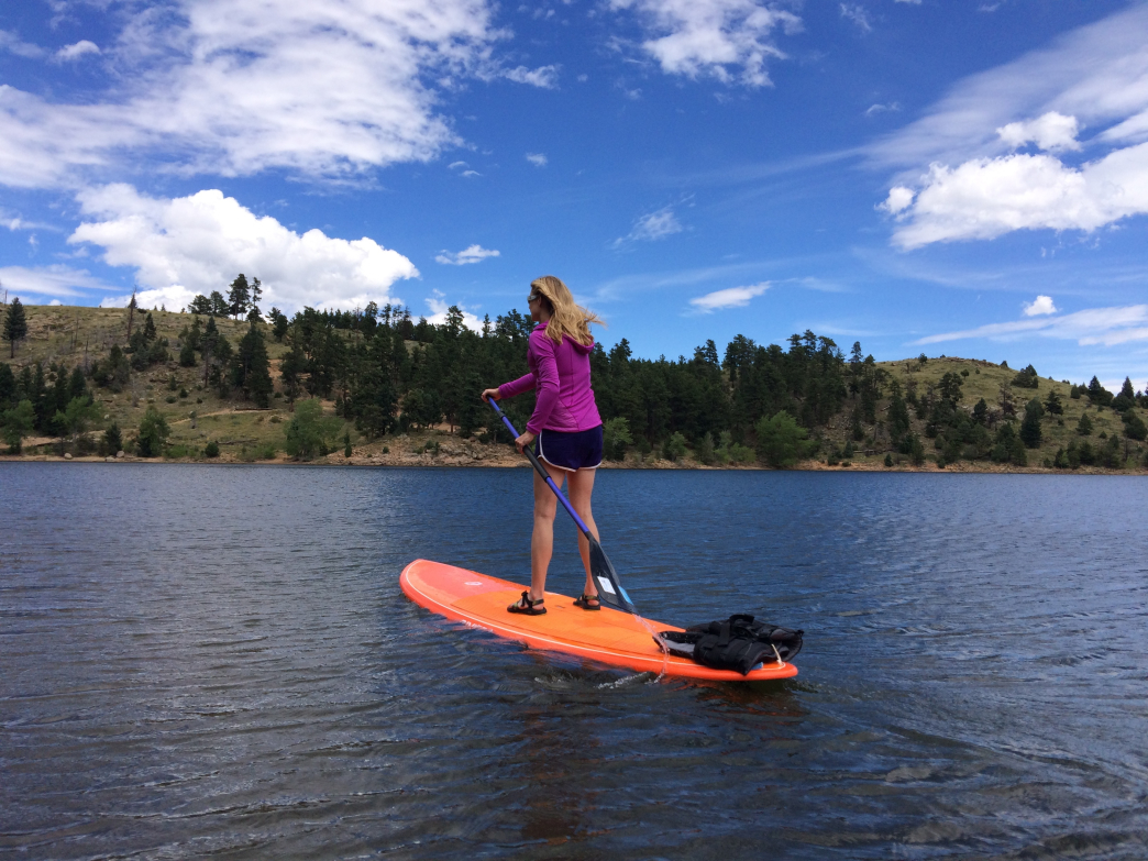 4 great and unexpected places to sup around boulder for Gross reservoir fishing