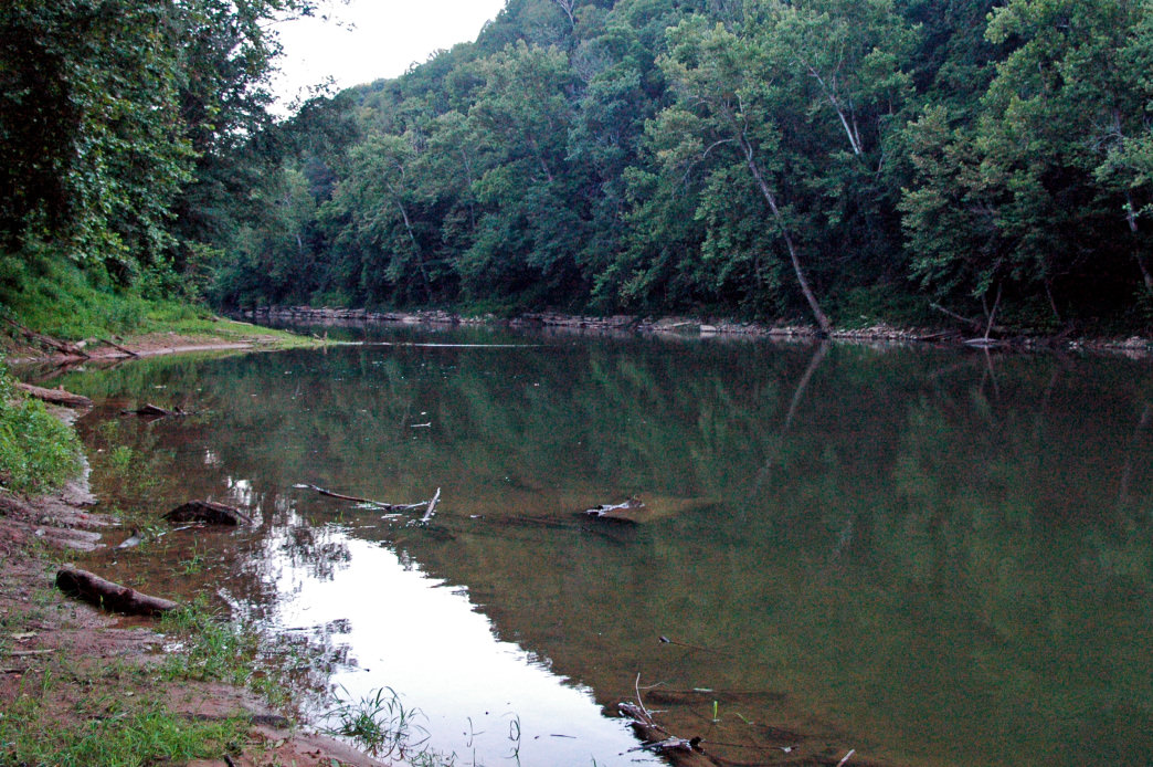 The Green River runs right through Mammoth Cave National Park.