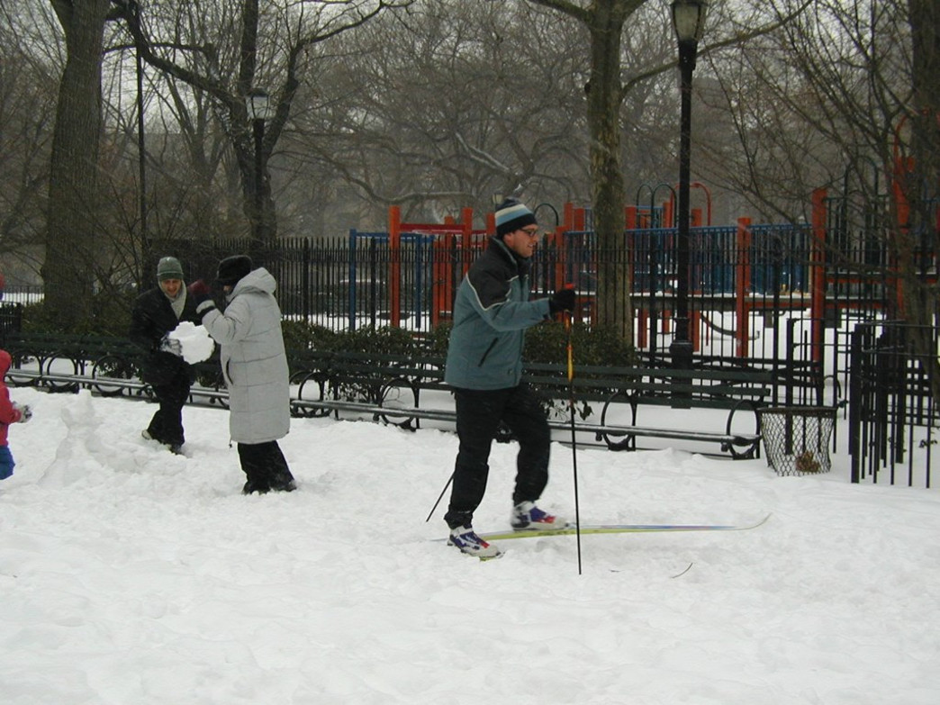 Cross country skiing in NYC