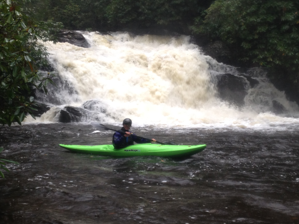 Jack Ditty below the High Falls portage