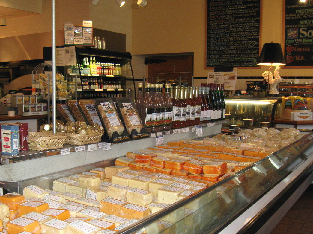 Shop for fine wine and cheese in Nelson.