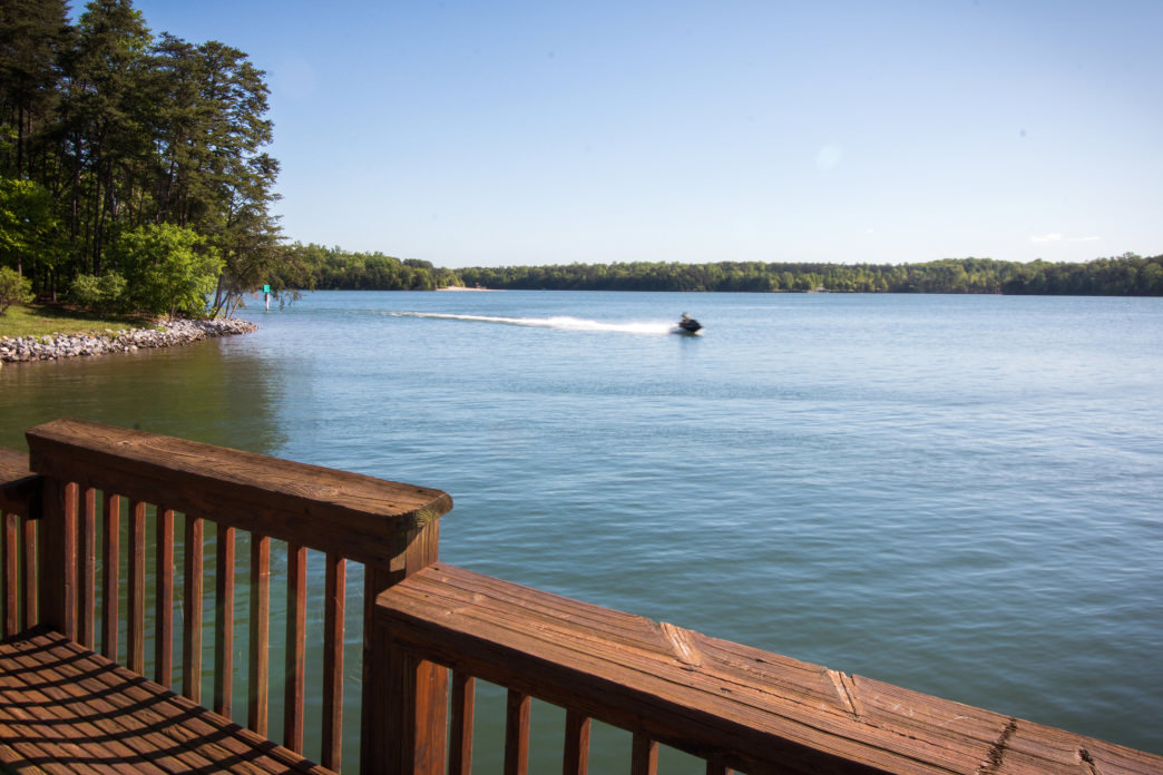 Smith Mountain Lake is perfect for boating, sailing, and swimming all summer long.     Jenna Herzog