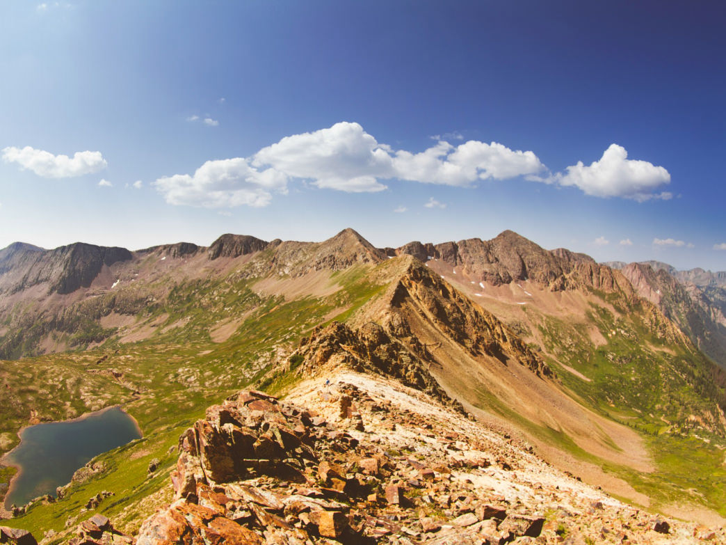 At 500,000 acres, the Weminuche Wilderness is the largest wilderness area in Colorado.