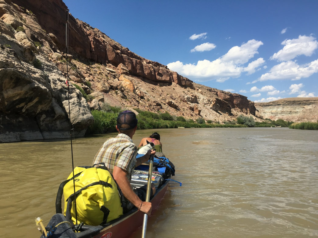 Canoeing Colorados Lower Gunnison River The Perfect Beginner Trip - Los angeles river kayak map