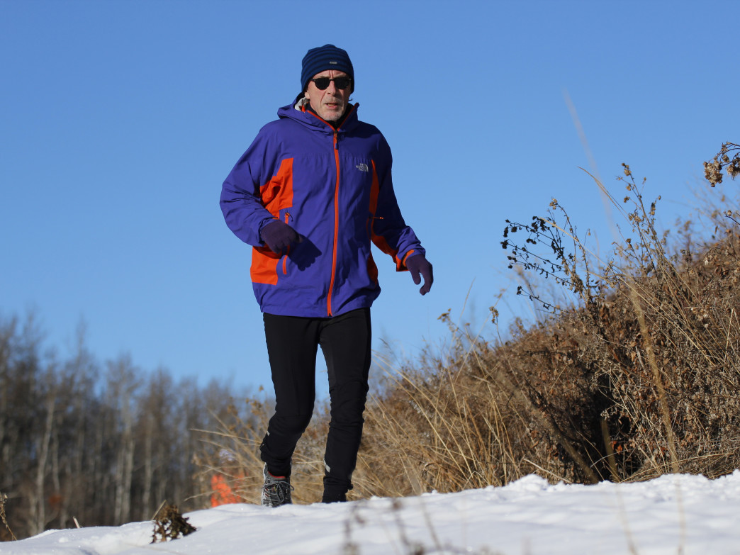 Know that you'll get hot quickly when dressing for a trail run.