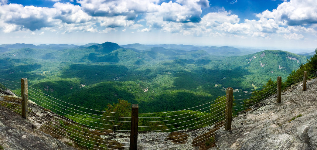 Soak in the views on the Whiteside Mountain Trail.