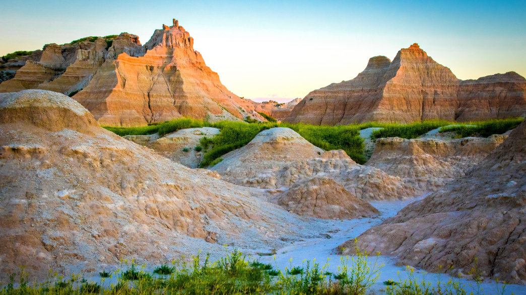 Cycling is one of the best ways to explore Badlands National Park.